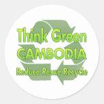 Think Green Cambodia Stickers