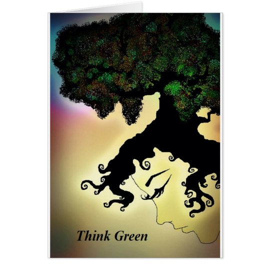 Think Green Card