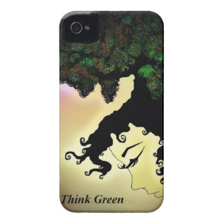 Think Green Case-Mate iPhone 4 Cases