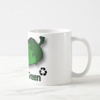 Think Green Coffee Mug