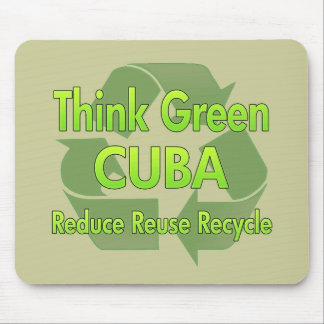 Think Green Cuba Mouse Pad