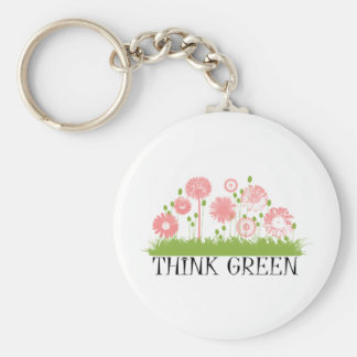 Think Green Cute Products! Keychains