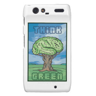 Think Green Droid RAZR Cover
