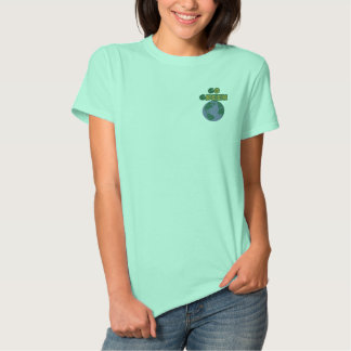 Think Green Earth Embroidered Shirt