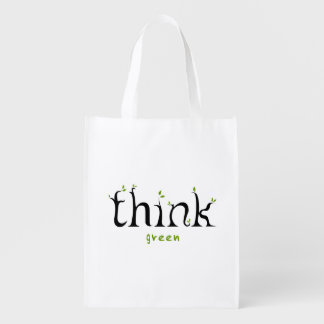 Think Green Earth Lover Bag Grocery Bag