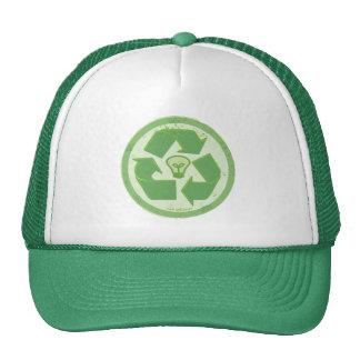 Think Green Earthday Symbol by Mudge Studios Hat