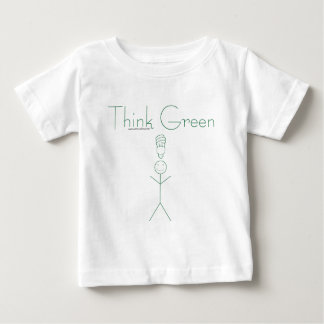 Think green: Eco-friendly stick person t-shirts