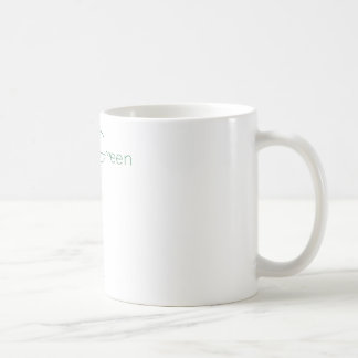 Think green: Eco-friendly stick person t-shirts Coffee Mug