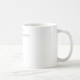 Think green: Eco-friendly stick person t-shirts Mugs