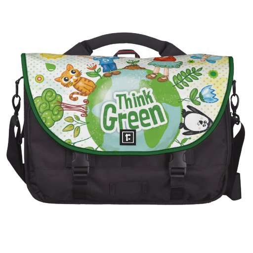 Think Green Eco Kids Laptop Computer Bag