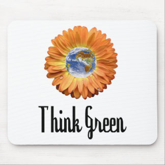 Think Green ecology products! Mouse Pad