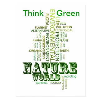 Think Green Environmental  Postcard