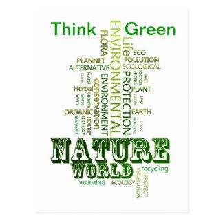 Think Green Environmental  Postcard