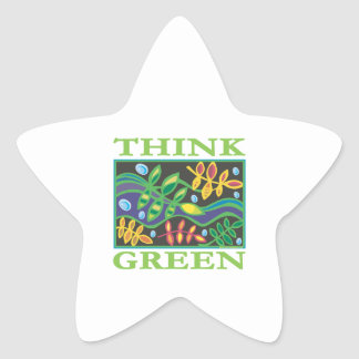 Think Green Environmental Stickers