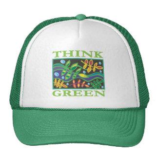 Think Green Environmental Trucker Hat