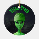Think Green ET Christmas Tree Ornaments