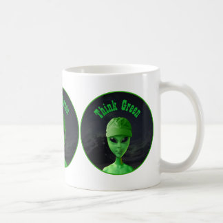 Think Green ET Coffee Mug