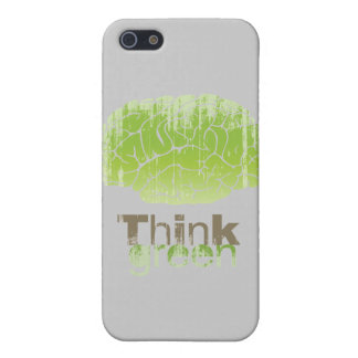 THINK GREEN Faded png Case For iPhone 5