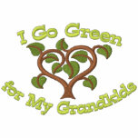 Think Green for Grandkids Embroidered Hoodie