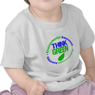 THINK GREEN for the Environment Tshirts