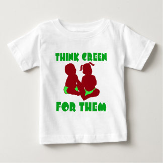 Think Green for Them Baby T-Shirt