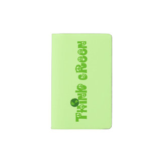 Think Green Globe Notebook Cover