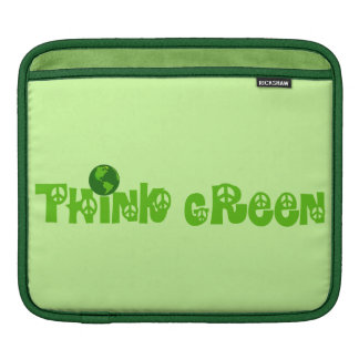 Think Green Globe Sleeve For iPads