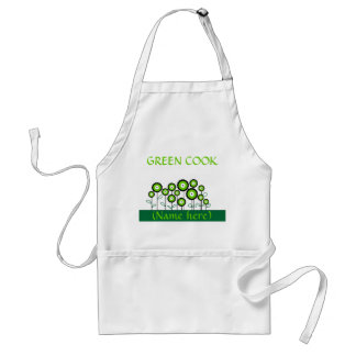 THINK GREEN GO GREEN ADULT APRON