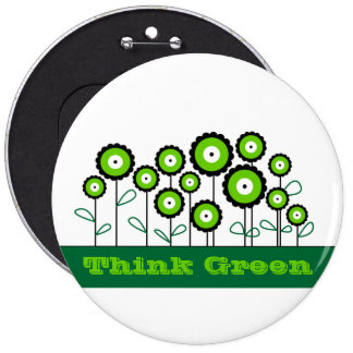 THINK GREEN GO GREEN BUTTON