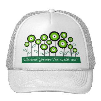 THINK GREEN GO GREEN HATS