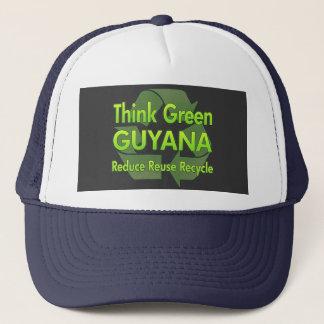 Think Green Guyana Trucker Hat