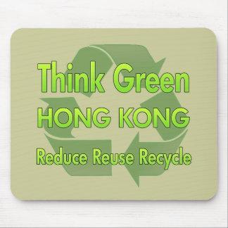 Think Green Hong Kong Mouse Mats