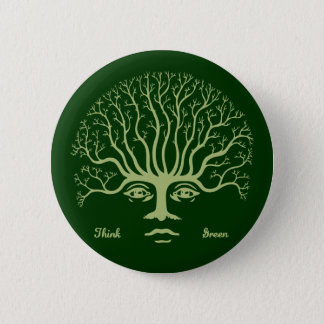 Think Green II Button