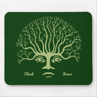 Think Green II Mouse Pad