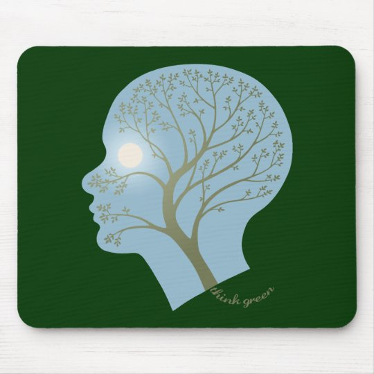 Think Green III Mouse Pad