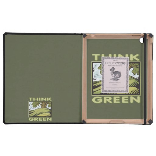 Think Green iPad Cover