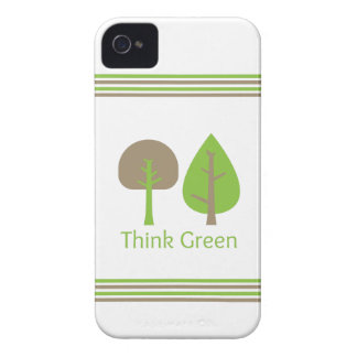 Think Green iPhone 4 Case-Mate Case