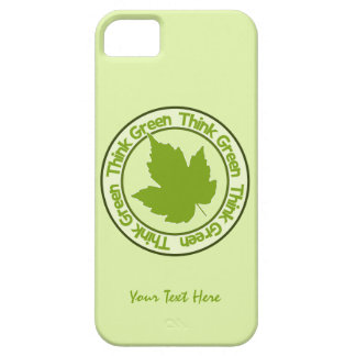 THINK GREEN iPhone cases
