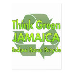 Think Green Jamaica Post Cards
