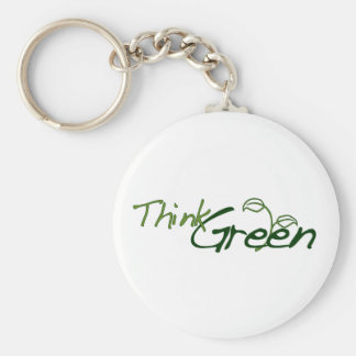 Think Green Key Chains