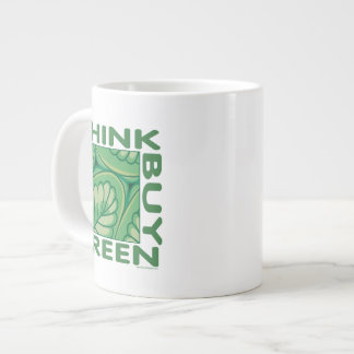 Think Green Large Coffee Mug