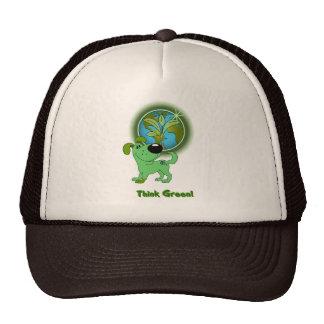 Think Green (Leaf) Hats