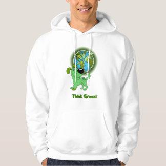 Think Green (Leaf) Hoodie