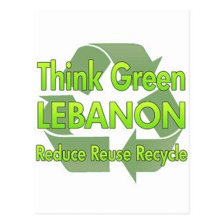 Think Green Lebanon Post Card