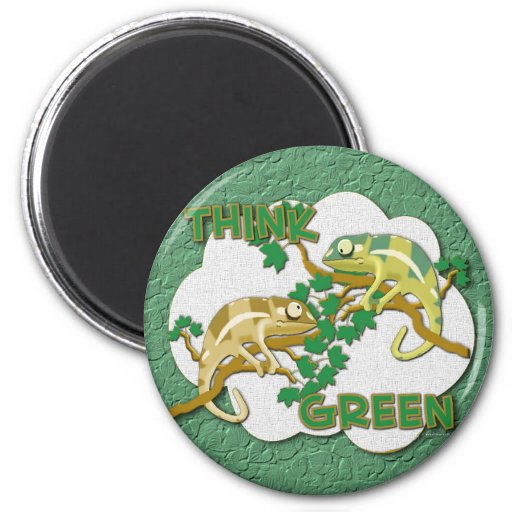 Think Green Magnet