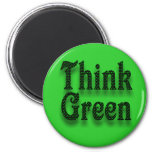 Think Green-Magnet