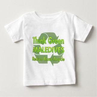 Think Green Maledives Infant T-shirt