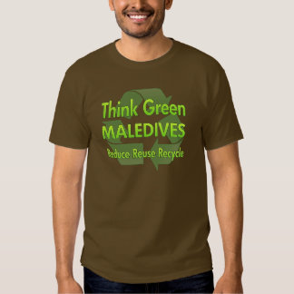 Think Green Maledives T Shirt