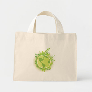 Think Green Mini Tote Bag