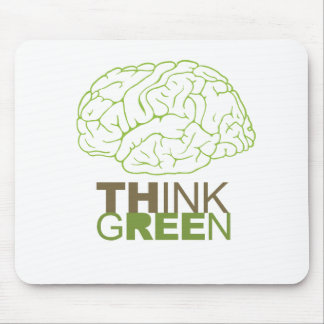 THINK GREEN - MOUSE PADS